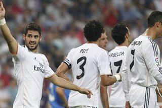 El Real Madrid golea al Getafe pero sin Bale, que se lesiona antes de empezar