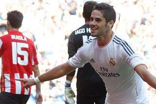 Mandó Modric, marcó Isco, pidió paso Di María y asustó Cristiano Ronaldo