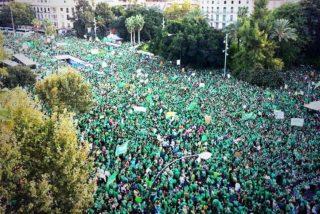 El grito de 100.000 personas contra el TIL deja aún más sordo al PP de Bauzá