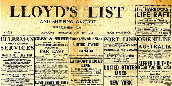 Deja de imprimirse en Gran Bretaña el periódico más antiguo del mundo