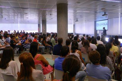 La primera promoción de la Loyola Andalucía llega a las aulas
