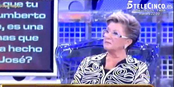 La vida sexual de María Patiño, la traición de Chelo GªCortés, delitos y mentiras en el delirante polígrafo de la madre de Mª José Campanario