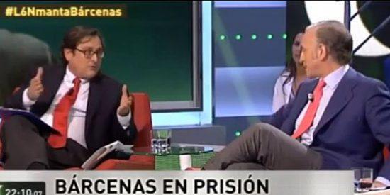 """Marhuenda, en 'La Sexta Noche': """"Inda, no hagas trampas que la gente es muy lista y se da cuenta"""""""