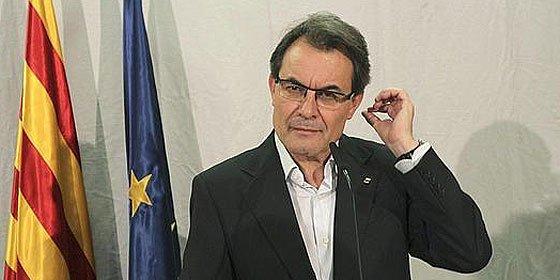"""Mas advierte al Estado que tendrá un """"problema grave"""" si no escucha la Via Catalana"""