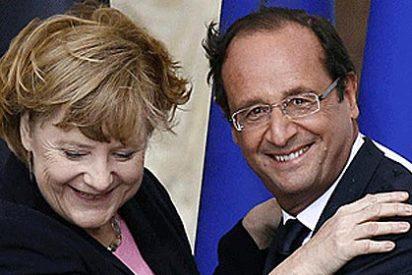 """Los líderes europeos se rinden al """"espectacular"""" éxito de Merkel"""