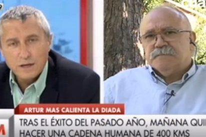"Melchor Miralles se harta del discurso separatista de Carod Rovira: ""¡Pues disfrute usted el sol en Catalunya!"""