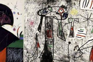 'Vuela' una obra de Miró de la Fundación en Palma de Mallorca...¡y ocultan el robo durante casi dos años!