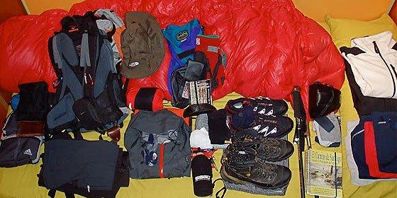 El Camino de Santiago: La mochila del peregrino