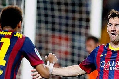 El árbitro regala un gol y tres minutos al Barça, para que pueda ganar al Sevilla