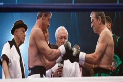[Vídeo] ¿Quiere ver a De Niro y a Sylvester Stallone a punto de darse de puñetazos?
