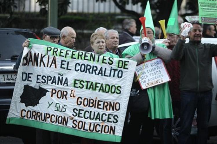 Casi 12.000 clientes de Bankia se salen con la suya y recuperan su dinero en preferentes