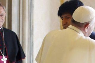 """Evo, al Papa: """"Para mí, es el hermano Francisco"""""""