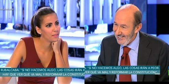 El morboso regreso de Rubalcaba a laSexta tras ser entrevistado por Ana Pastor, ¿aceptará ir ahora con Ferreras?