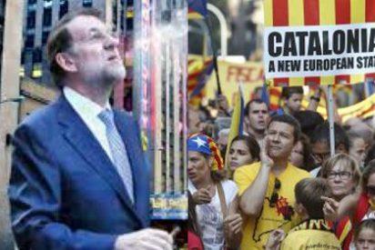 Rajoy se fuma un puro frente al desafío de los separatistas catalanes