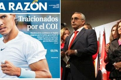 """La Razón peca de pardillo con el COI: un miembro de la delegación española jura que les """"iban a votar"""""""