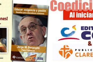 Publicaciones Claretianas y CCS unen esfuerzos para lanzar dos nuevas obras del Papa