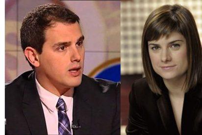 """Rivera le deja las cosas claras a Ariadna Oltra (TV3): """"¿Usted no se ha enterado de que Mas quiso hacer un registro de buenos catalanes?"""""""