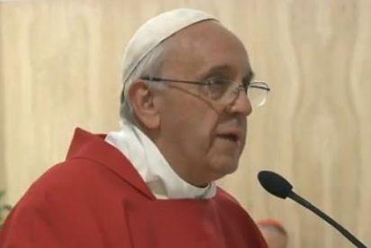 """Francisco defiende """"una Iglesia valiente, que defiende a sus hijos"""""""