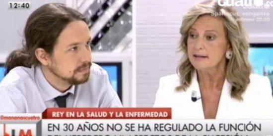 """Las sutilezas de Pablo Iglesias para no llamar 'facha' a San Sebastián: """"Si votaste la Constitución no eras tan de derechas como ahora"""""""