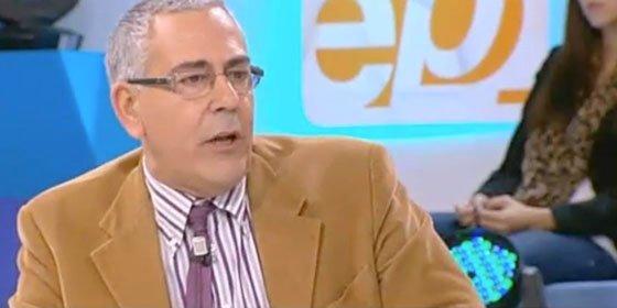 """Toni Bolaño a 'Espejo Público': """"Sólo os falta poner una pantalla con 'San Rajoy' para beatificarlo"""""""