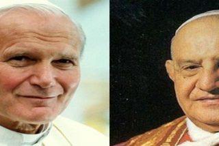 Francisco elige el 27 de abril para elevar a los altares a Juan XXIII y a Juan Pablo II