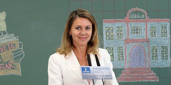 Rubalcaba no frena el empeño de Cospedal de reducir el número de diputados