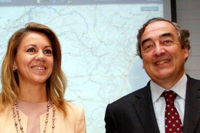 Cospedal 'vende' 23,2 millones de metros cuadrados para que las empresas inviertan