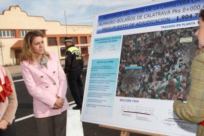 Cospedal reafirma la apuesta del Gobierno regional por mejorar las carreteras