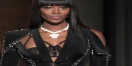Naomi Campbell se pasó 10 días a base de zumo de piña por 'culpa' de Versace