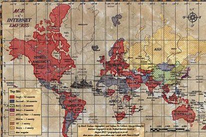 Las páginas webs más visitadas del mundo, país por país