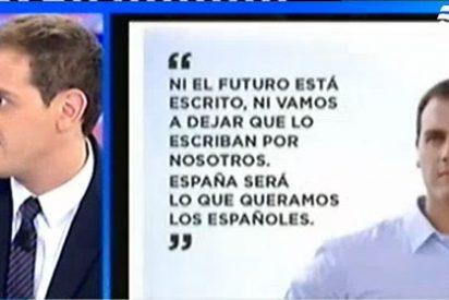 """Albert Rivera: """"Desde el PP se nos tolera si nos conformamos con quedarnos en Cataluña"""""""