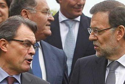 """Mariano Rajoy, en Cataluña: """"Lo moderno es la unión, no la disgregación"""""""