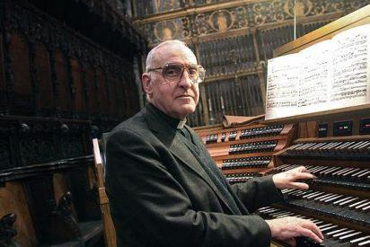 """José Enrique Ayarra, organista: """"Cuando voy a Vitoria voy a casa"""""""