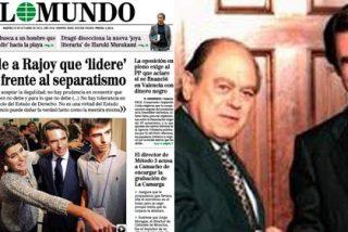 Aznar, el mismo que dio alas al nacionalismo catalán, le exige a Rajoy que frene la deriva separatista