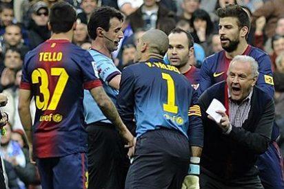 Los del Barça tienen un cabreo y mosqueo por el número de penaltis pitados al Real Madrid