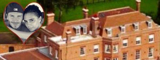 Los Beckham 'colocan' su mansión de 14 millones zoológico y helipuerto incluido
