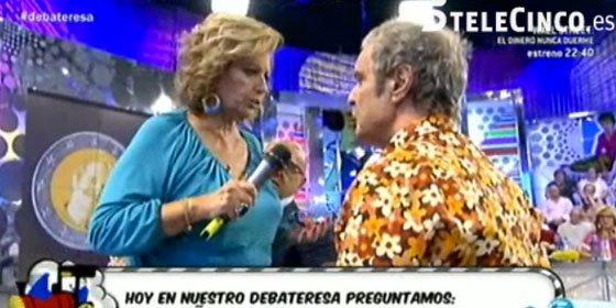 """Mariñas acorralado por la Campos: """"¡A mí y a mi hija nos ha puesto verdes hasta trabajando conmigo!"""""""