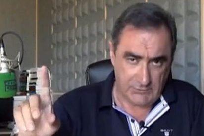 "Carlos Herrera: ""CiU debería sacar a gorrazos a Artur Mas por pasar de 60 a 35 escaños"""