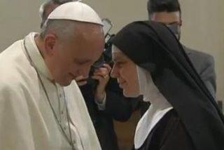 """El Papa, a las clarisas: """"Que el Monasterio no sea un purgatorio, que sea una familia"""""""