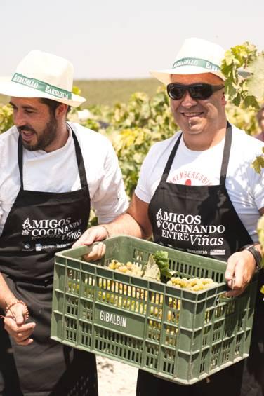 """Bodegas Barbadillo, protagonista del tercer encuentro """"Cocinando Entre Viñas"""""""