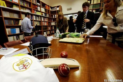 El Vaticano también juega el cricket