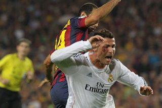 Cristiano Ronaldo está harto de tanto error arbitral cada vez que visita el Camp Nou