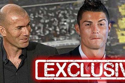 Cristiano Ronaldo está triste y muy decepcionado con Zinedine Zidane