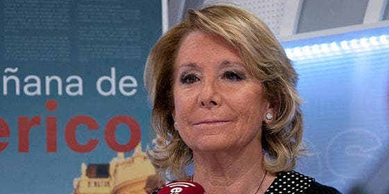 """Esperanza Aguirre: """"La derecha debe dejar sus complejos y defender la Nación española"""""""