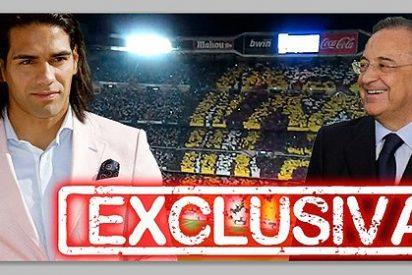 Acuerdo verbal entre Florentino y Falcao para que 'El Tigre' fiche por el Real Madrid