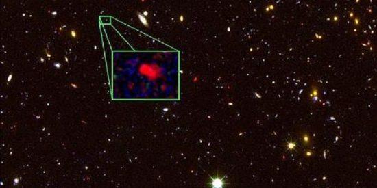 Descubren una 'anciana' galaxia creada 700 millones de años tras el Big Bang