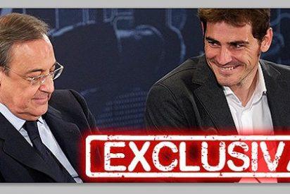 Si Iker Casillas quiere irse del Real Madrid, Florentino Pérez le ayudará a salir