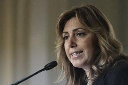 Susana Díaz cuestiona a Zapatero por comprometerse a aceptar el Estatut