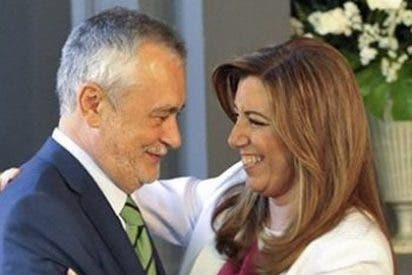 Griñán pone tierra de por medio y aúpa a Díaz a la secretaría general del PSOE-A