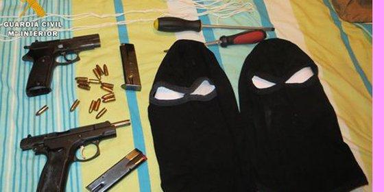 Desarticulado un grupo dedicado a la comisión de secuestros exprés
